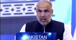 NA speaker Asad Qaiser address seminar