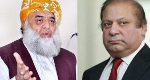 Nawaz Sharif Fazlur Rehman