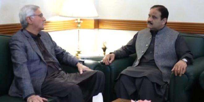 CM Usman Buzdar and Jehangir Tareen