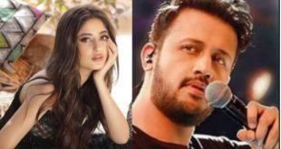 Sajal Ali in Atif Aslam's new music video