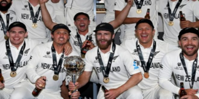 New Zealand become ICC Test Champion