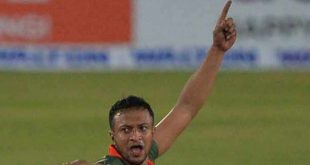 Shakib Al Hasan suspended for misbehave with Umpire
