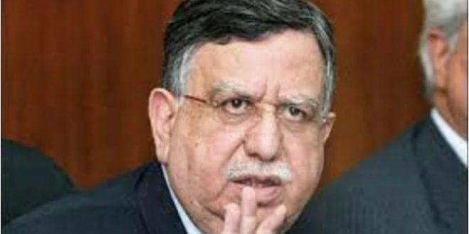 Pakistan Finance Minister Shaukat Tareen