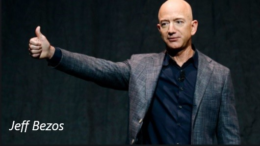 Jeff Bezos becomes history's richest man