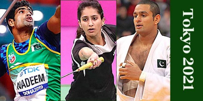 Pakistani athletes performance at Tokyo Olympics