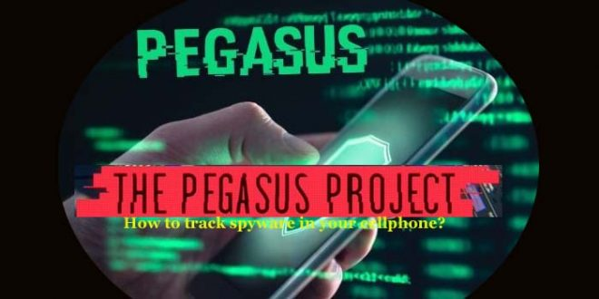 How to detect Pegasus in mobile phone