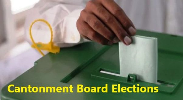 Cantonment Board Election Results