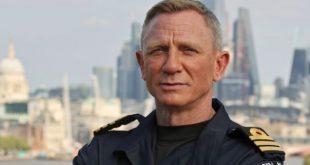 Daniel Craig honorary British Navy Commander