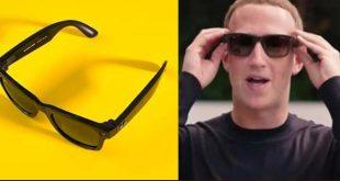 Facebook introduce smart glasses