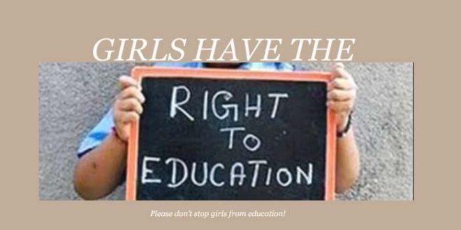 Girls education in Pakistan