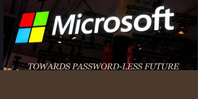 Microsoft introduces passwordless accounts